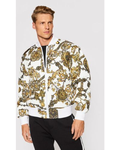 Kurtka bomber - biała Versace Jeans Couture