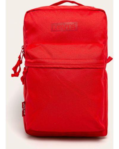 Plecak z wzorem czerwony Levi's