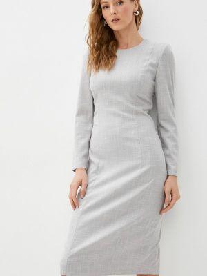 Платье футляр - серое Moru