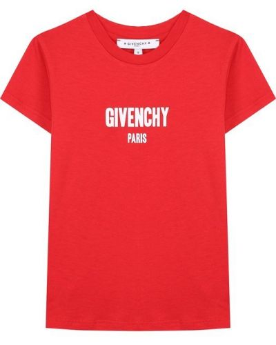 Футболка с надписями с логотипом Givenchy