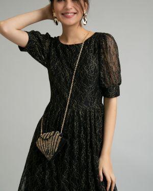 Вечернее платье платье-сарафан с вырезом Emka