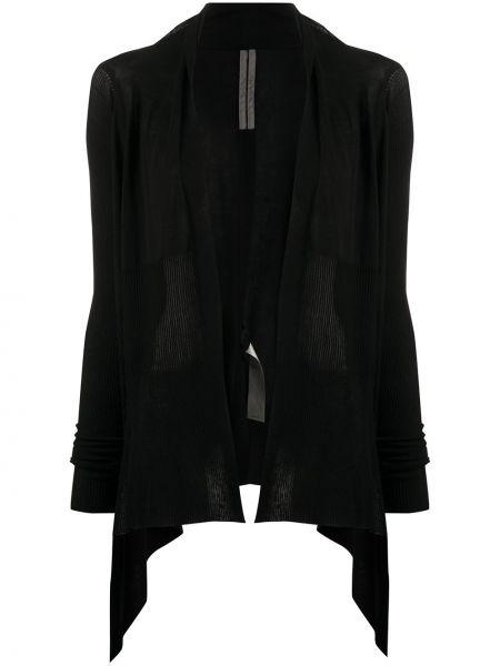 Długi płaszcz asymetryczny lekki Rick Owens