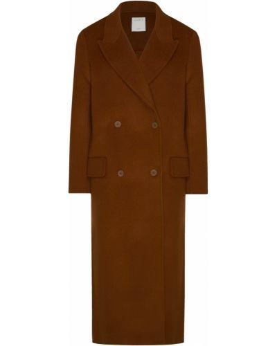 Пальто шерстяное с воротником Sandro