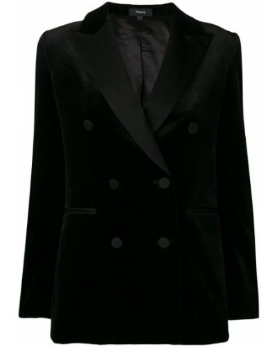 Пиджак черный смокинг Theory