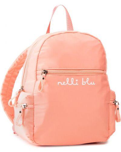 Pomarańczowy plecak Nelli Blu