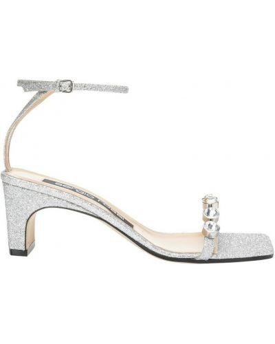 Białe sandały Sergio Rossi