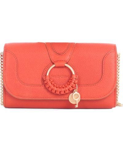 Czerwony portfel See By Chloe