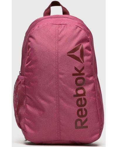 Малиновый рюкзак с отделениями Reebok