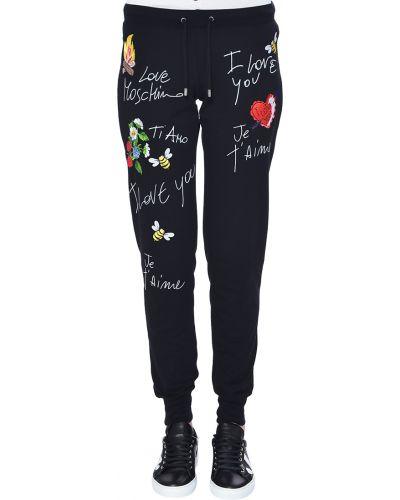 Спортивные брюки хлопковые Love Moschino