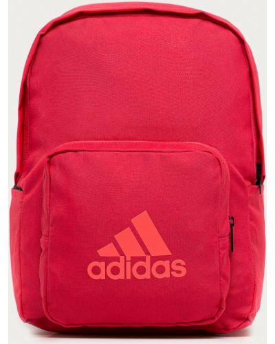 Розовый рюкзак с карманами Adidas Performance