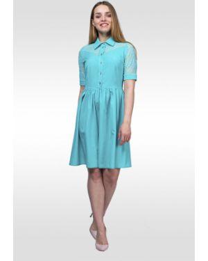 Платье с поясом платье-рубашка платье-сарафан Lila Classic Style