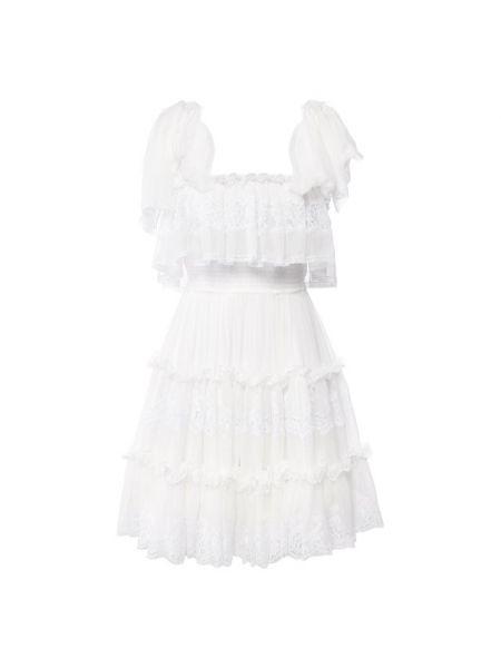 Платье на бретелях со вставками Dolce & Gabbana