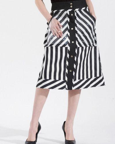 Джинсовая юбка черная W8less