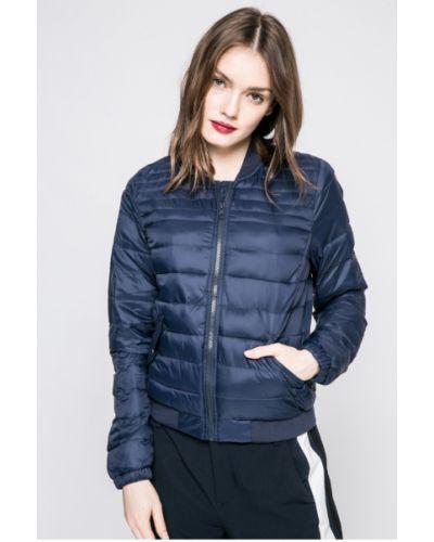 Стеганая куртка утепленная на резинке прямая Jacqueline De Yong