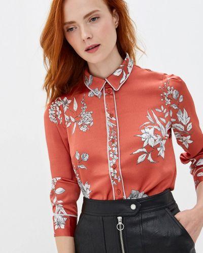 Блузка с длинным рукавом коралловый красная Woman Ego