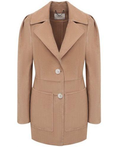 Кожаный пиджак - коричневый Dorothee Schumacher