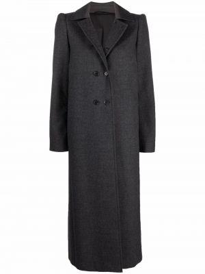 Шерстяное пальто - серое Lemaire