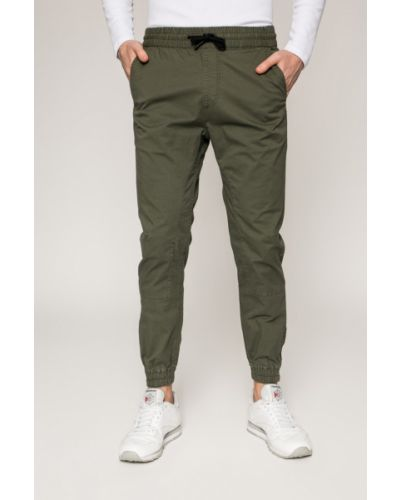 Прямые брюки на резинке с карманами Jack & Jones