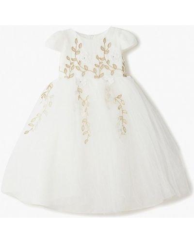 Платье на торжество белое Vitacci