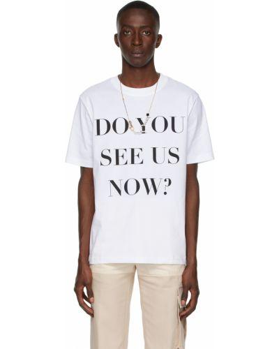 Biała t-shirt bawełniana Botter