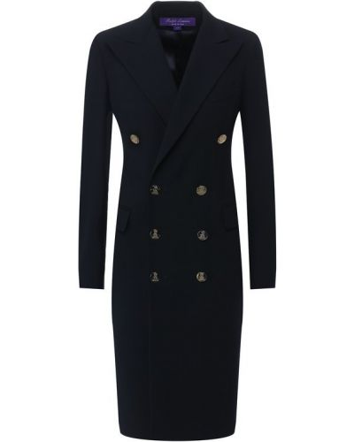 Шерстяное платье - синее Ralph Lauren