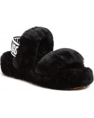Kapcie skorzane - czarne Ugg