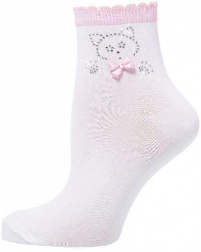 Носки трикотажные со стразами Larmini