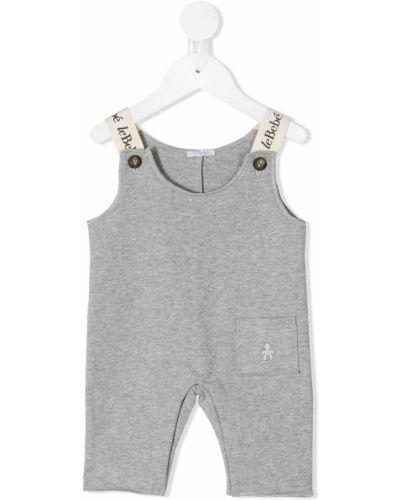 Ватный патчи для шеи с накладными карманами с вышивкой без рукавов Le Bebé Enfant
