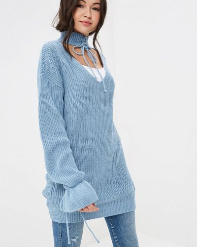 Голубой пуловер Glamorous
