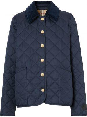 Стеганая куртка - синяя Burberry