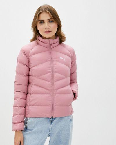 Теплая розовая куртка Puma