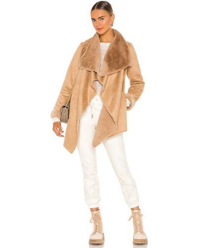 Открытая длинная куртка из искусственного меха с карманами John & Jenn By Line