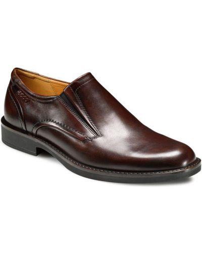 Кожаные туфли легкие с подкладкой Ecco