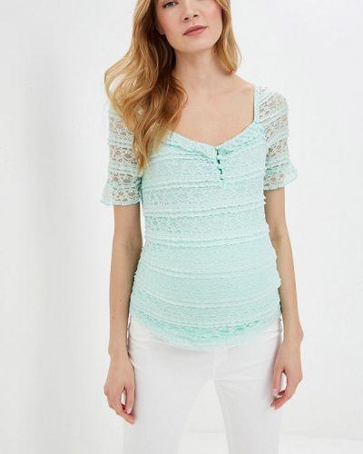 Бирюзовая блузка для беременных с поясом Dorothy Perkins Maternity
