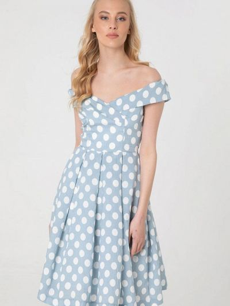 Платье с открытыми плечами Lmp