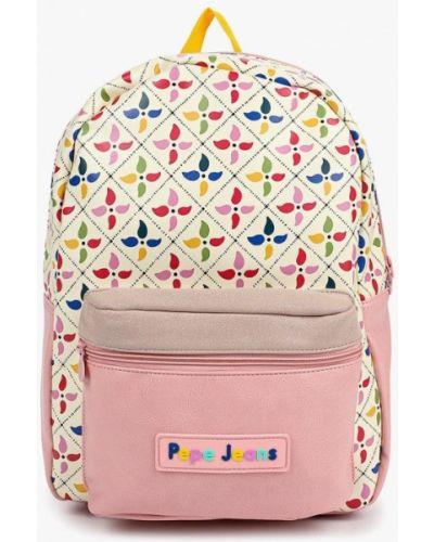 Рюкзак розовый Pepe Jeans