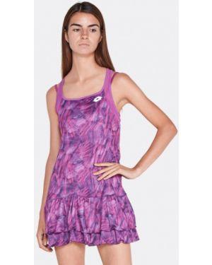 Платье осеннее фиолетовый Lotto