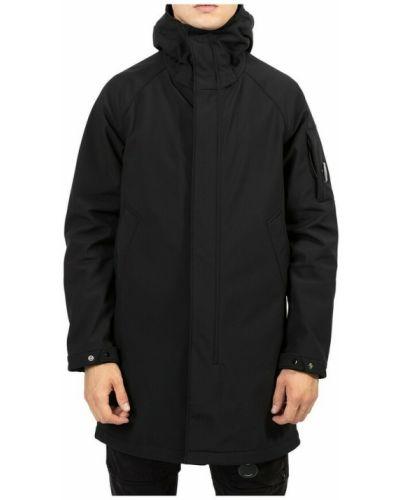 Czarny płaszcz C.p. Company