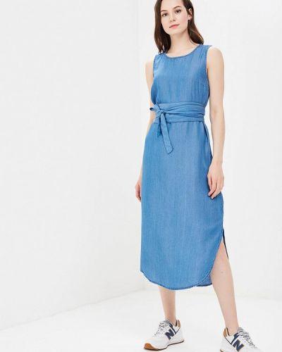 Джинсовое платье весеннее синее Ichi