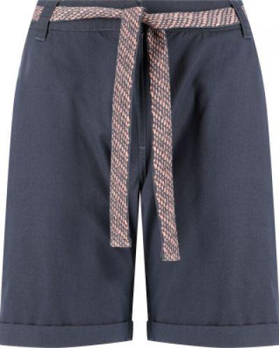 Прямые фиолетовые хлопковые шорты Termit
