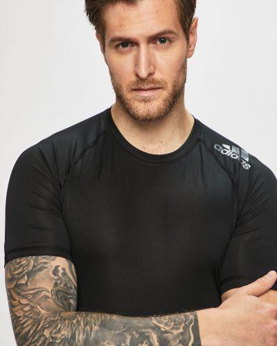 Koszula długa czarna Adidas Performance