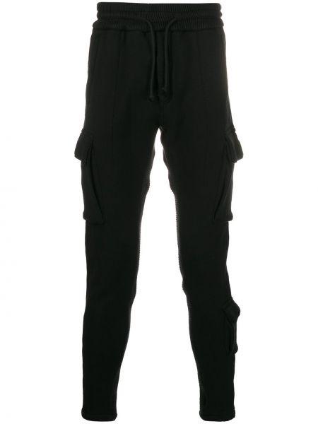 Czarne spodnie bawełniane ciążowe Htc Los Angeles