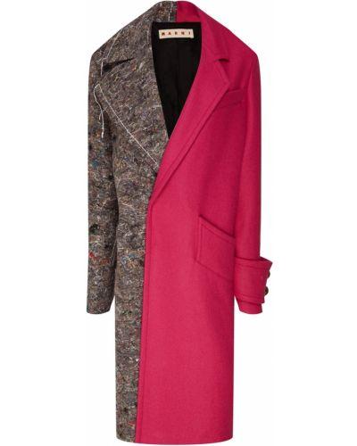 Пальто оверсайз с принтом Marni