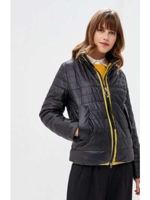 Черная куртка утепленная La Biali