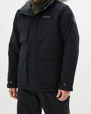 Зимняя куртка утепленная черная Columbia