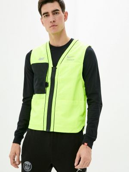 Спортивная зеленая спортивная жилетка Nike