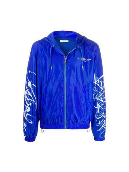 Niebieska kurtka Givenchy