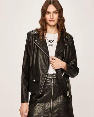 Кожаная куртка с капюшоном укороченная Armani Exchange