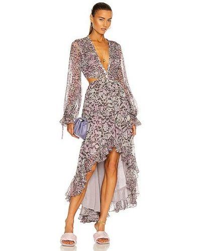 Платье с люрексом - сиреневое Rococo Sand