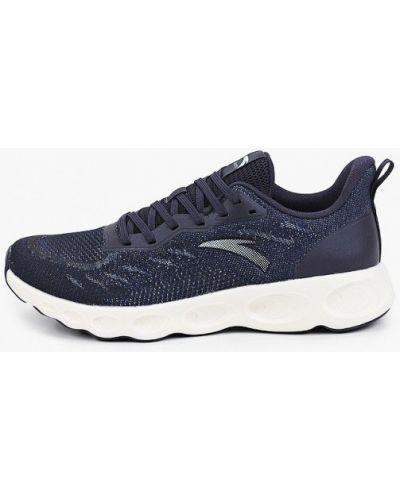 Синие кроссовки осенние Anta